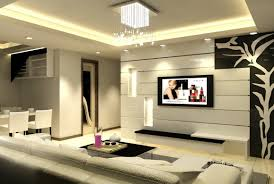 Small Picture Amazing Interior Design Of Living Room With Lcd Tv Home Design