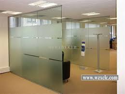 office dividers glass. China Sheets Of Toughened Modular Office Partitions With Straight Glass Panels ,Sound Privacy Suppliers Dividers O