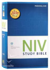 Niv Study Bible Personal Red Letter Edition