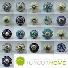 drawer pulls for furniture. Blue White Navy Ceramic Door Knobs Handles Furniture Drawer Pulls Cupboard For A