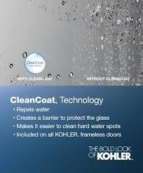 kohler sliding shower door technology parts