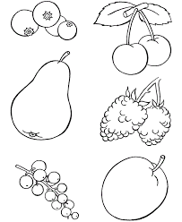 Small Picture Preschool Food Coloring Pages Coloring Home