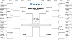 Ncaa Tournament Bracket Scores 2018 Ncaa Tournament Bracket Scores Schedule Results For
