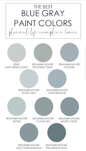 Beautiful Light Blue Paint Colors The Best Blue Gray Paint Colors Blue Gray Paint Colors