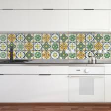 moroccan tiles stickers pack of 16 tiles tile decals art for walls kitchen backsplash bathroom