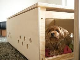 Indoor Dog Wooden House