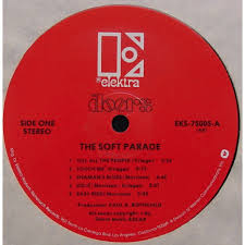 The soft parade by The Doors LP with themroc Ref