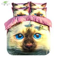 cat bedspreads cat bedspreads animal bedding set pet printed duvet cover twin full queen themed comforter