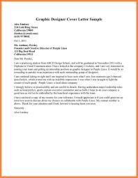Cover Letter For Graphic Design Job Graphic Designer Cover Letter Sample Make Creative Resume