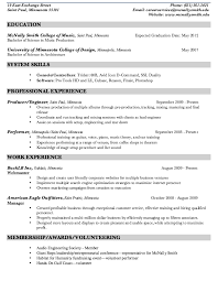 Production Resume Examples Example Le Cordon Bleu Optimal Resume Http Exampleresumecv Org Best