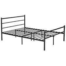 Amazoncom GreenForest Bed Frame Full Size Metal Two Headboards 10