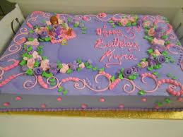 Girl Birthday Sheet Cake Designs Happy Holidays