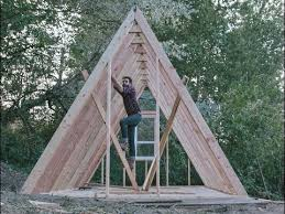 How to Build an A Frame House with Low Budget