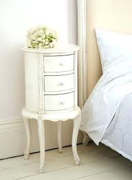white circle bedside table in love with this classical white round bedside table white gloss round