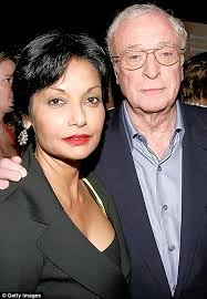 young michael caine wife.  Michael Michael Caine And Wife Shakira And Young Wife T