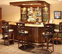 corner bar furniture. Wooden Bar Furniture Home Decorations With Brown Counter And Stools Also Corner