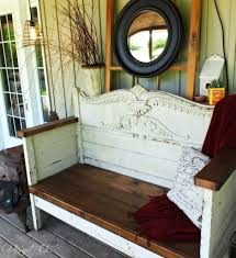 Headboard To Bench Antique Headboard Bench Wow Vinyet Etc Xjunkersunite