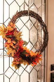 Fall Wreath Diy Fall Wreath The Wood Grain Cottage