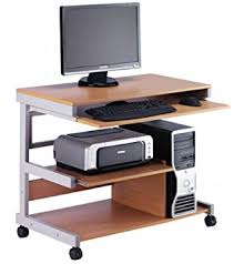 tower computer desk. HOPCO MOBILE TOWER COMPUTER WORKSTATION DESK Tower Computer Desk L