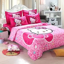 cartoon bedding sets brilliant home textiles children cartoon hello kitty kids bedding set kids bedding sets