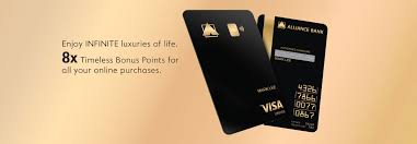 Reward points are redeemable for gifts, vouchers, and other benefits. Credit Cards Alliance Bank Malaysia