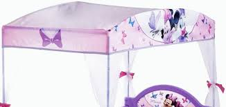 Great Minnie Mouse Toddler Bed With Canopy with Walmart Minnie Mouse ...