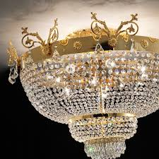 ornate lighting. Ornate Gold And Crystal Empire Ceiling Light Lighting A