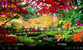 3d garden live wallpaper screenshot 2 5
