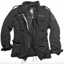 jacket surplus regiment m65 black
