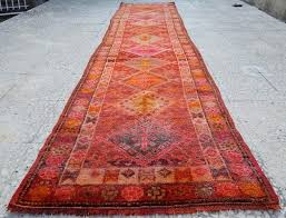 orange and green rug faded pink color antique pattern runner lime rugs orange and green rug