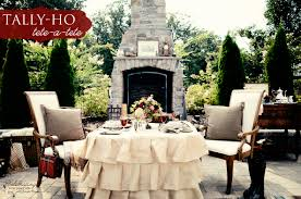 drop dead gorgeous accessories for table decoration with burlap table linens good looking outdoor wedding