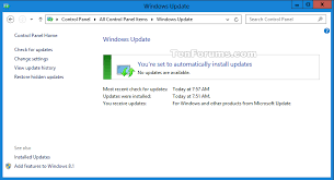 Disable Upgrade To Windows 10 Update In Windows 7 Or 8 1 Tutorials