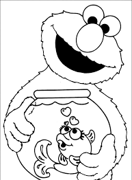 Small Picture Free Elmo Coloring Pages Image 18 Gianfredanet