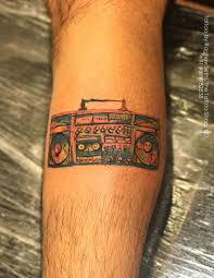 Shopping Tattoos Designs Boombox Tattoo By Raghav Sethi Done At The Tattoo Shop New