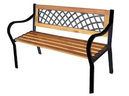 metal and wood patio furniture. Modren And Wood And Metal Benches For Garden Patio Furniture  Trellischicago To T