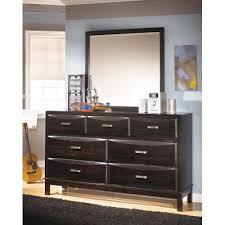 B473B1 by Ashley Furniture - Kira - Almost Black 2 Piece Bedroom Set ...