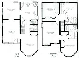 4 bedroom 2 story house plans two story house plans two story floor plans with loft