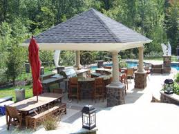 Best Outdoor Covered Patio Design Ideas Designs Nz With Pool Garden
