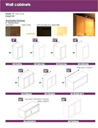 fascinating wall cabinet depth wall cabinet sizes medium size of cabinets standard kitchen wall cabinet depth