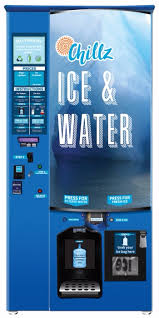 Water Ice Machine Vending Impressive Custom Branding Everest Ice And Water Vending Systems
