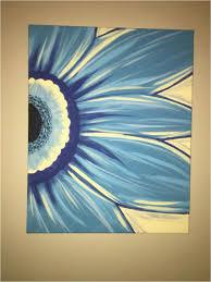 diy paint and sip night gerber daisy canvas painting paint and sip wine and canvas