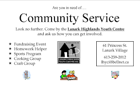 lanark highlands youth centre inc what a busy year so far i must apologize for not updating the website sooner check out the events page to see all the great things happening here ta the