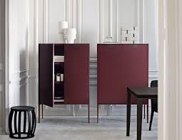 contemporary bar cabinet  wooden  by antonio citterio  alcor