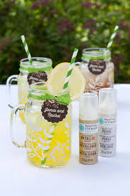 Decorating Mason Jars For Drinking Decorated Mason Jar Mugs Gift Favor Ideas From Evermine 82