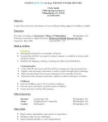 Human Services Resume Examples Human Services Resume Templates