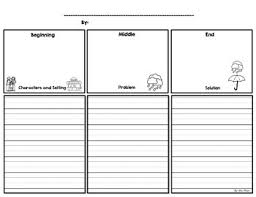 Story Template Beginning Middle End Story Outline Beginning Middle End
