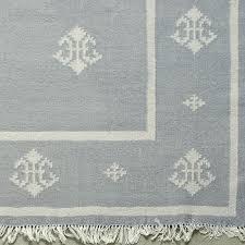 good wool kilim rug for handwoven wool rug smokey blue 25 tile wool kilim rug aquamarine