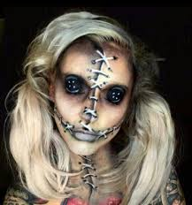 creepy doll makeup are you looking for scary horrifying makeup ideas for women to