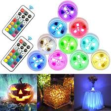 StillCool Submersible LED Lights 10pcs Mini ... - Amazon.com
