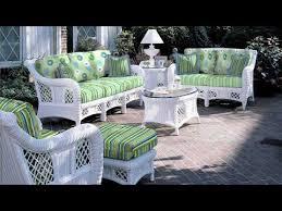 Attractive White Wicker Outdoor Furniture White Resin Wicker Patio